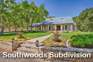 Home with acreage in Southwoods Subdivision.
